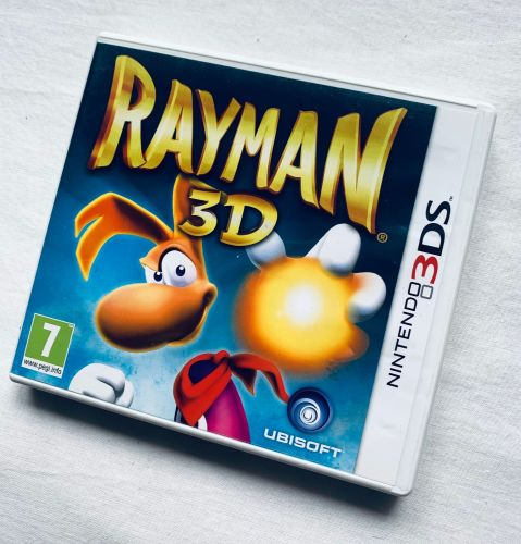 Rayman 3D Nintendo 3DS 2DS Game