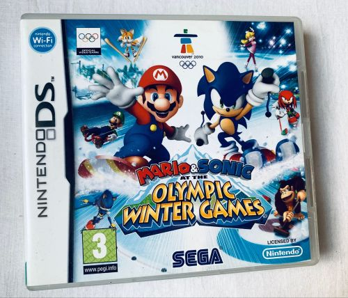 Sonic & Mario Olympic Winter Sports Nintendo DS Game