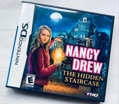 Nancy Drew The Hidden Staircase Nintendo DS Game