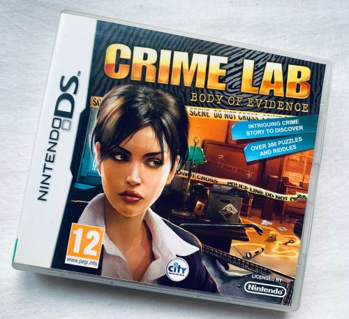 Crime Lab Nintendo DS Game