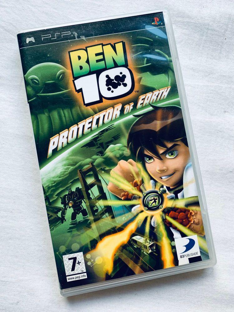 Ben 10 Sony Playstation PSP Handheld UMD Game