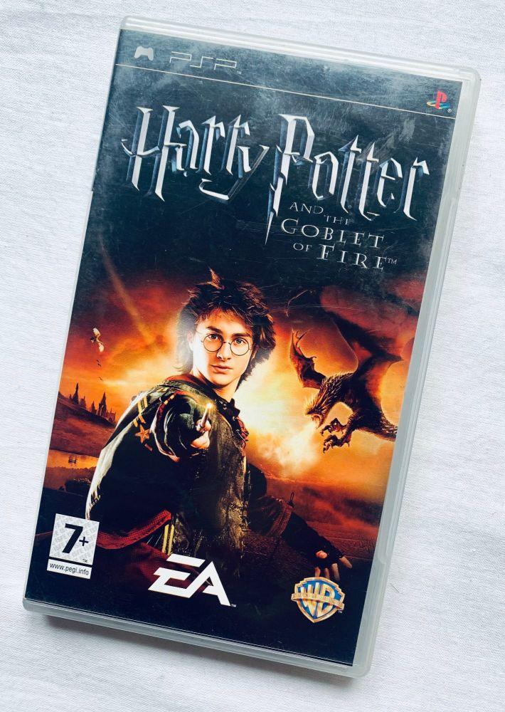 Harry Potter Goblet Of Fire Sony Playstation PSP Handheld UMD Game