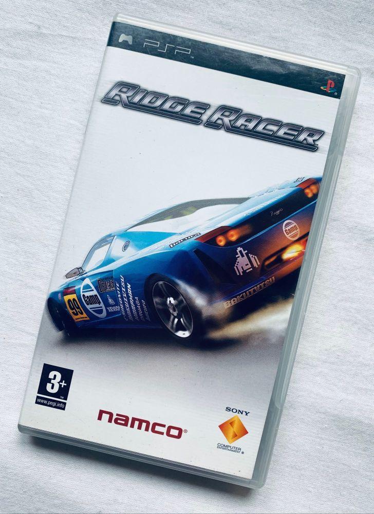 Ridge Racer Namco Sony Playstation PSP Handheld UMD Game