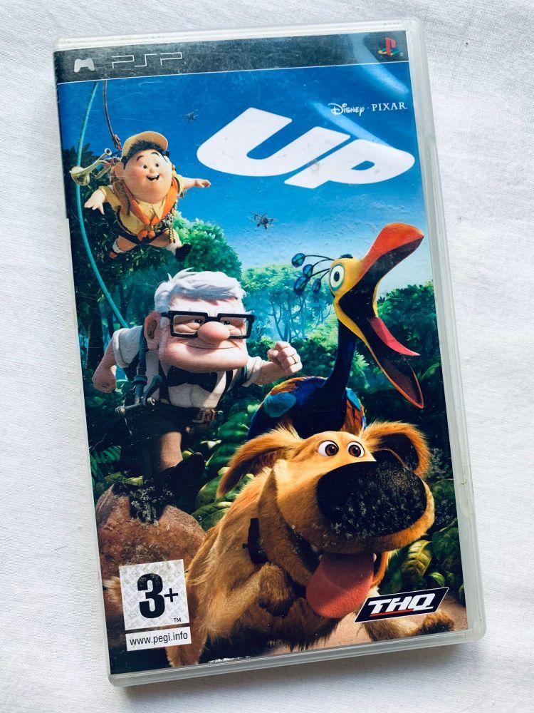 Disney UP Sony Playstation PSP Handheld UMD Game