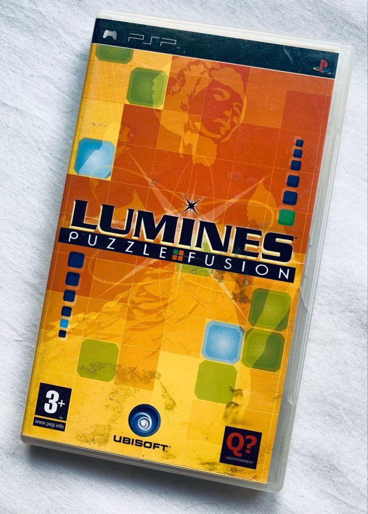 Lumines Sony Playstation PSP Handheld UMD Game