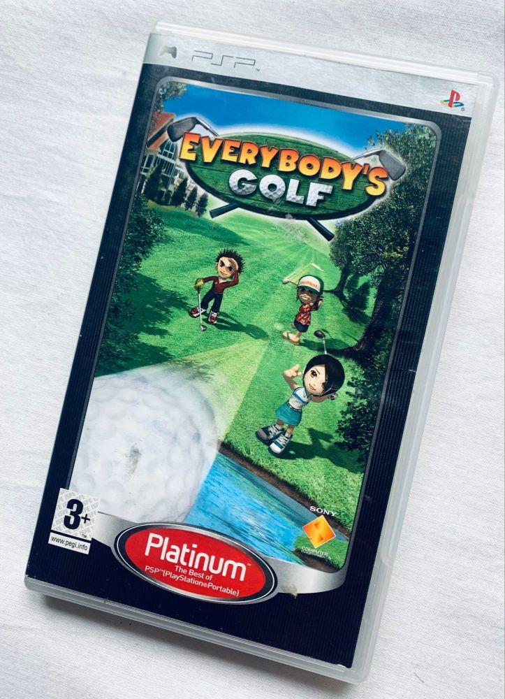 Everybodys Golf Sony Playstation PSP Handheld UMD Game
