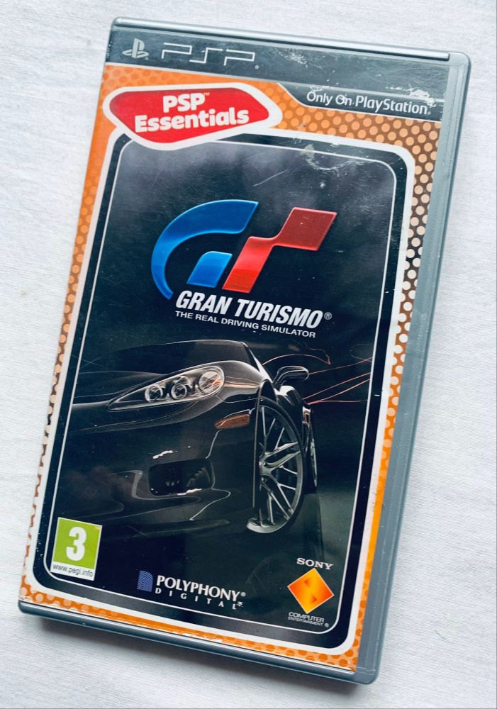 Gran Turismo Car Sony Playstation PSP Handheld UMD Game