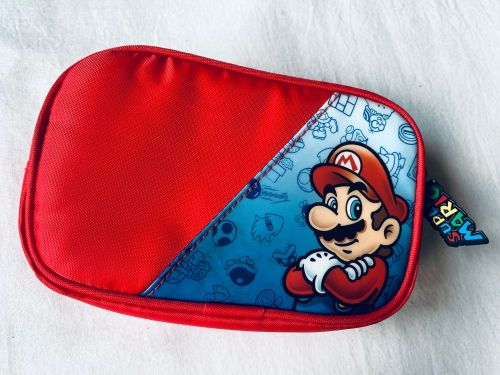 Mario Brothers Carry Case Cover Nintendo Handheld Game Console DS 3DS Retro