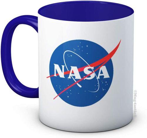 NASA Drinks Mug Cup With Blue inside
