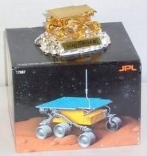 24k Gold & Silver Rare Collectors Edition NASA JPL SOJOURNER Mars Rover Mod