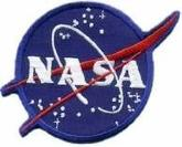 Official NASA Space Vector Logo Patch