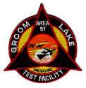 Area 51 Groom Lake Test Facility Patch Rare