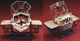 The Keck Ground Space Telescope Model Kit