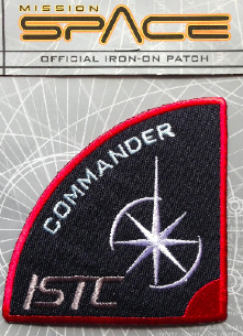 ISTC Commander Mission Space Patch Rare