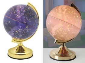 Constellation Stars Globe Touch Table Lamp