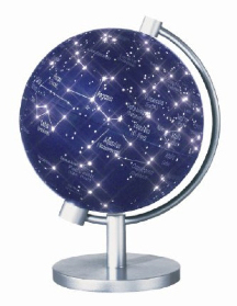 Insight Globe Dual Constellations / Stars Space Illuminated Insight Globe [