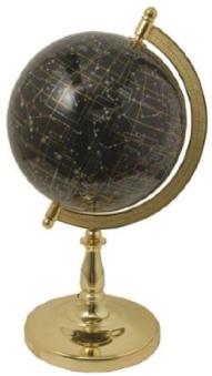 Rare Mother Of Pearl 22cm Night Sky Globe Stars Space