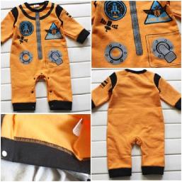 Baby Unisex Costume Romper Suit Nasa Astronaut Spaceman 3-18 Months