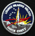 NASA Patch Lounge Hilmers Nelson Hauck Covey Rare
