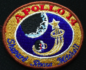 NASA Apollo 14 Moon Mission Patch Rare