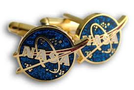 Nasa Space Exploration Cufflinks In Ltd Edition Box