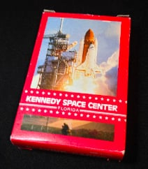 NASA Space Shuttle Playing Cards From 1980s Collectable