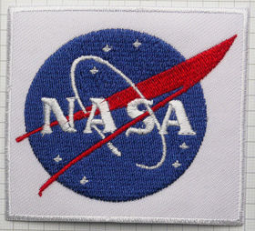 Square Space NASA Logo Patch