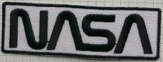 Classic NASA Logo Patch