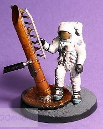 SCIENCE MUSEUM MODEL MOON LANDING NEIL ARMSTRONG ASTRONAUT FIGURE NASA