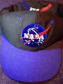 NASA Space Logo Baseball Cap Hat