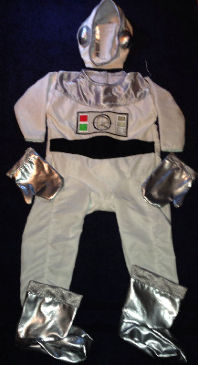 Baby Astronaut Space Suit Boots Gloves NASA 3-18 Months