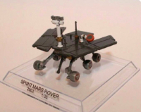 JPL NASA Spirit Mars Rover Diecast Model On Disply Stand Rare
