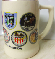 NASA Apollo Detailed Mission Patches Large Mug
