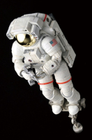 NASA ISS Space Suit Extravehicular Mobility Unit 1/10 Quality High Detail Model Kit With Working Helmet Lights