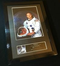 Apollo 11 Moon Neil Armstrong NASA Framed Display Picture And Plaque