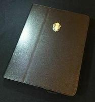 NASA Space Shuttle Retire Metal Logo iPad 2 3 4 Leather Case