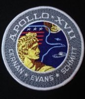 Very Rare NASA Apollo 17 Large Patch