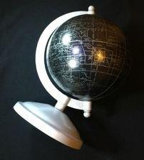 Desk World Globe At Night