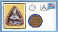 Colorano STS-34 NASA Space Shuttle Atlantis Medallion Kennedy Space Center Cover