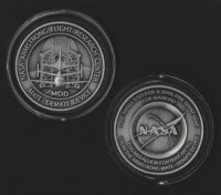 NASA MDD SPACE SHUTTLE MATE DEMATE DEVICE ARMSTRONG FLIGHT RESEARCH MEDALLION