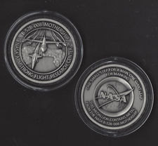 NEW B-52B-008 MOTHERSHIP NASA ARMSTRONG FLIGHT RESEARCH USAF MEDALLION