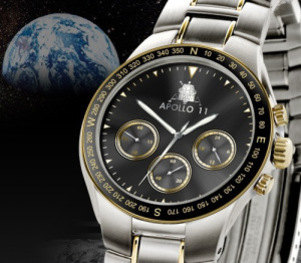 NASA Neil Armstrong Apollo 11 40th Anniversary Chronograph Watch