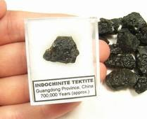 Indochinite Tektite China, Meteorite Impact Glass, Astronomy Science