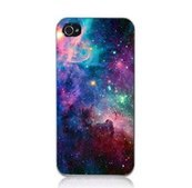 Nebula Galaxy NASA Space Universe Retro Snap On Hard Case Cover Back Protector For Apple iPhone 5 & 5S