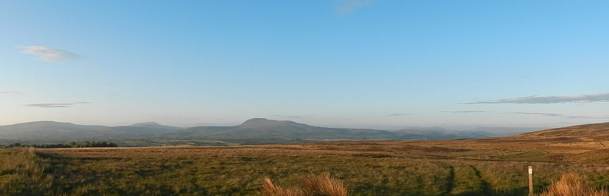 The Three Peaks from Fourstones
