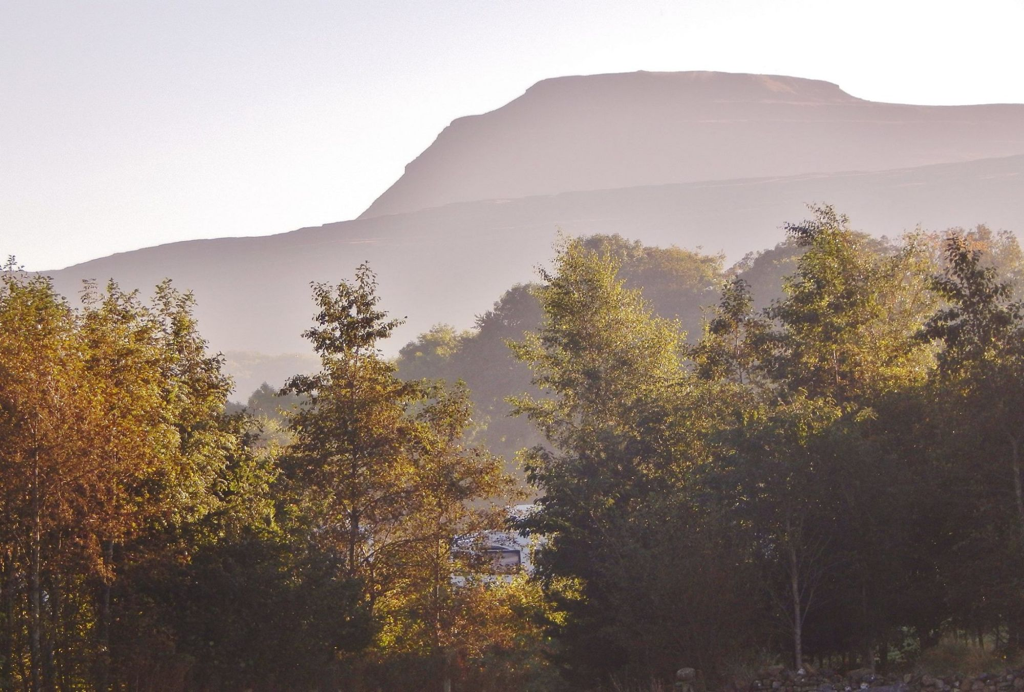Early Autumn Morning Thornbrook Barn Caravan Site