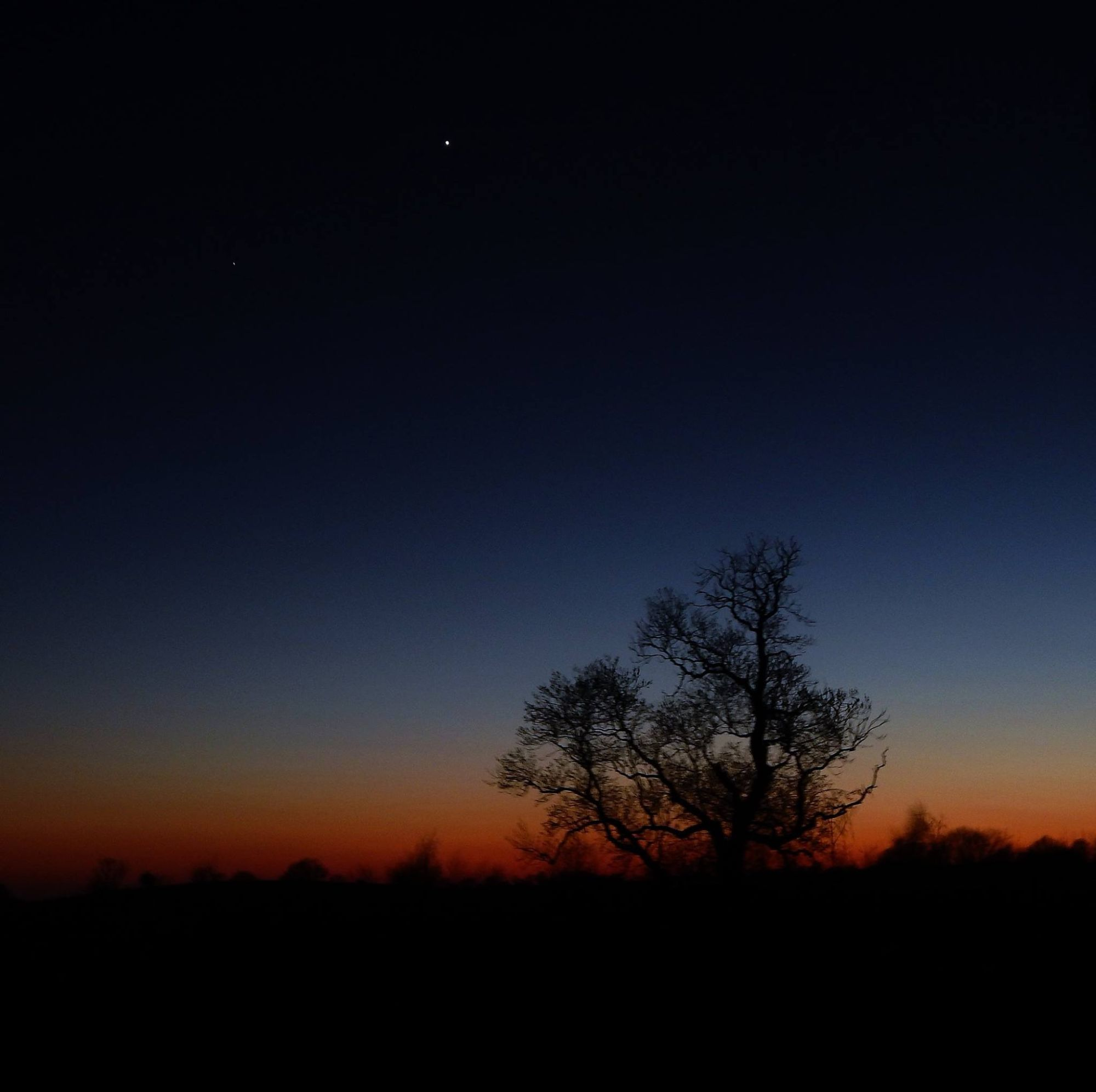 Night Skies with Venus Thornbrook Barn