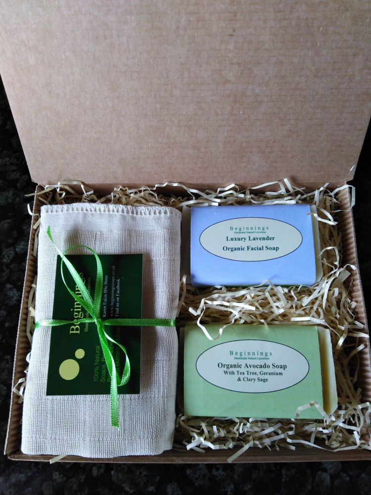Organic Soap Box By Beginnings