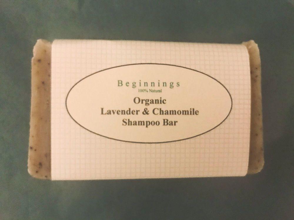 Lavender & Chamomile Shampoo Bar