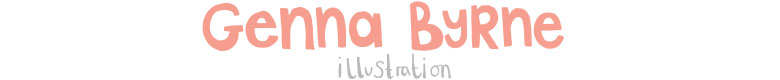 Genna Byrne Illustration, site logo.